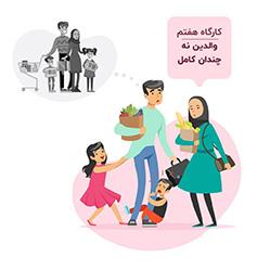والدینی آشفته نمی دانند هنگام خرید درباره درخواست کودکانشان برای خرید کالا چکار کنند کودکانشان برای خرید چیزهای مورد علاقه شان